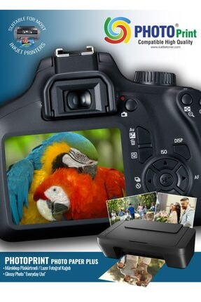 PHOTO PRİNT Canon I-sensys Mf-645cx Yazıcı Uyumlu A4 Parlak Kuşe Kağıt 130 gr 100 Adet
