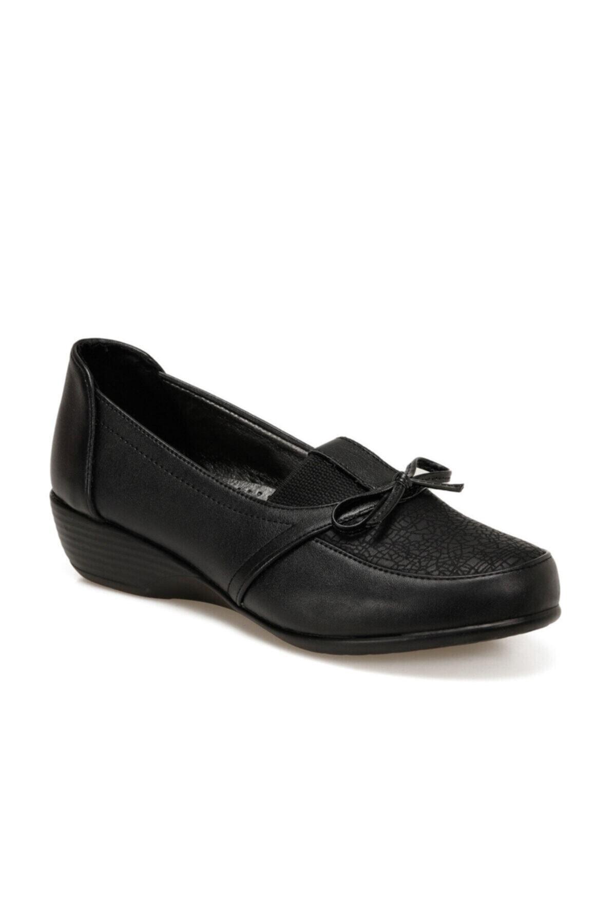 Polaris 161495.Z Siyah Kadın Comfort Ayakkabı 100548355 1