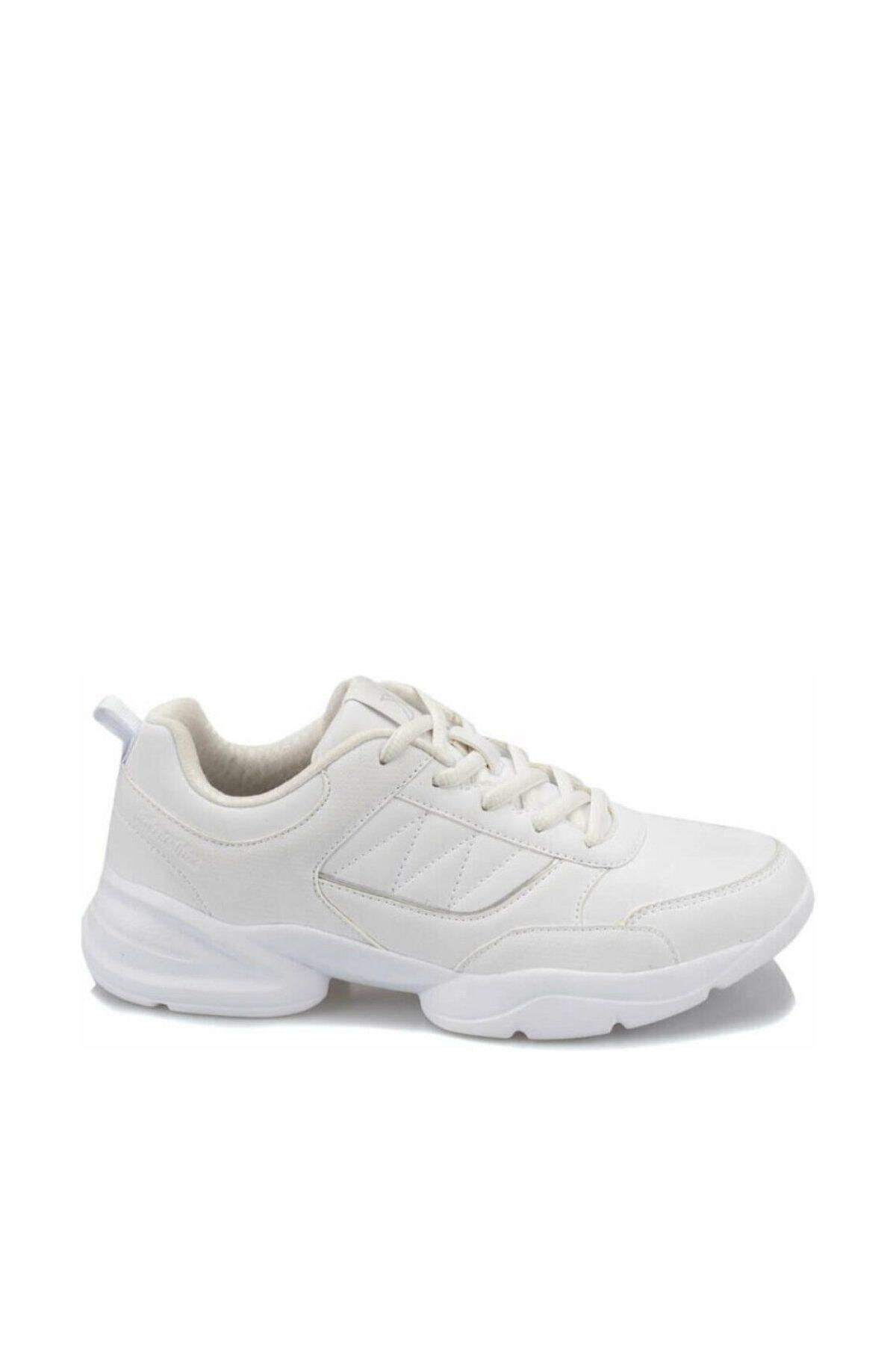 Kinetix PERLA W 9PR Beyaz Kadın Kalın Taban Sneaker Spor Ayakkabı 100426870 2