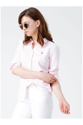 U.S. Polo Assn. Kadın Lila Gömlek
