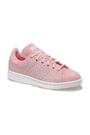 adidas STAN SMITH J Pembe Kadın Sneaker Ayakkabı 100529968