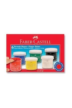 Faber Castell Parmak Boyası 6'lı 5 ml