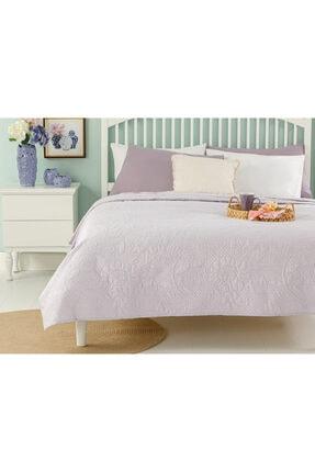 English Home Daisy Dream Çift Kişilik Çok Amaçlı Yatak Örtüsü 200x220 Cm Lila