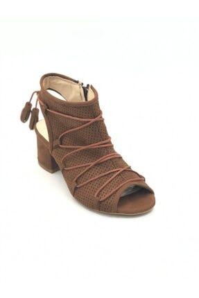 PUNTO Kadın Hakiki Deri Dolgu Topuk Ayakkabı