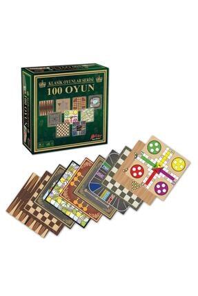 Star 100 Classic Oyun Seti 100 Klasik Oyun Kızma Birader Satranç+