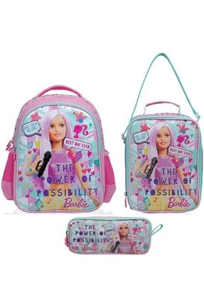 Frocx Barbie Ilkokul Çanta Seti / Popstar