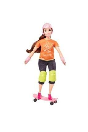 mattel Barbie Olimpiyat Bebekleri Tokyo 2020 Kaykay Gjl78