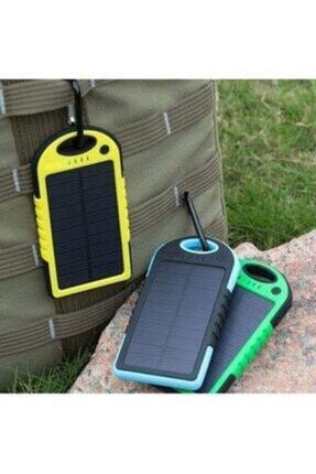 modern tekno Güneş Enerjili Solar Powerbank 12000 Mah