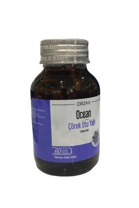 Orzax Ocean Çörek Otu Yağı 60 Kapsül Şişe