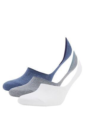 DeFacto Basic  Babet Çorabı 3'lü