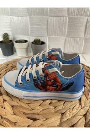 Bambino Erkek Çocuk Mavi Spidermen Örümcek Adamlı Spor Ayakkabı