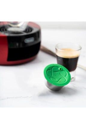 icafilas Dolce Gusto Krom Kaplama Paslanmaz Çelik Tekrar Doldurulabilir Kahve Kapsülü + Kahve 100gr