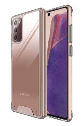 MobilCadde Dafoni Clear Hard Samsung Galaxy Note 20 Süper Koruma Kılıf
