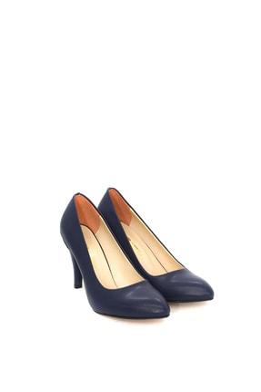PUNTO Kadın Lacivert Topuklu Ayakkabı