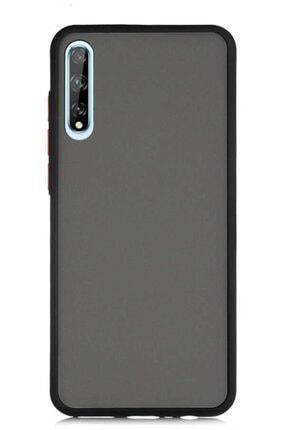 MobilCadde Dafoni Union Huawei Y8p  Uyumlu Ultra Koruma Siyah Kılıf