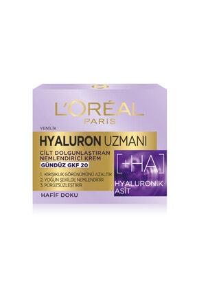 L'Oreal Paris Hyaluron Uzmanı Cilt Dolgunlaştıran Nemlendirici Krem Gündüz GKF20 - Hyaluronik Asit 3600523775682