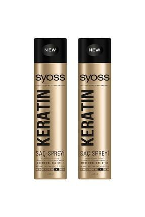 Syoss Keratin Sprey 400 ml X 2 Adet