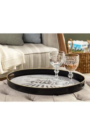 Madame Coco Clarette Oval Tepsi 30x42 cm