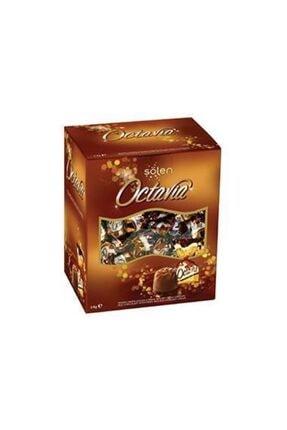 Şölen Octavia Fındıklı Krema Dolgulu Pirinç Patlaklı Sütlü Çikolata 1kg