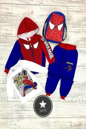SPIDERMAN Erkek Çocuk Spiderman 4'lü Takım
