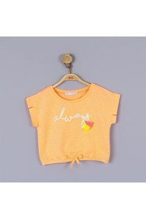 NK Kız Çocuk Turuncu Bluz 36426 Always 1-7