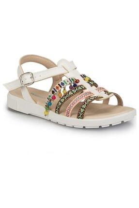 Polaris 81.311500 Beyaz Kadın Sandalet