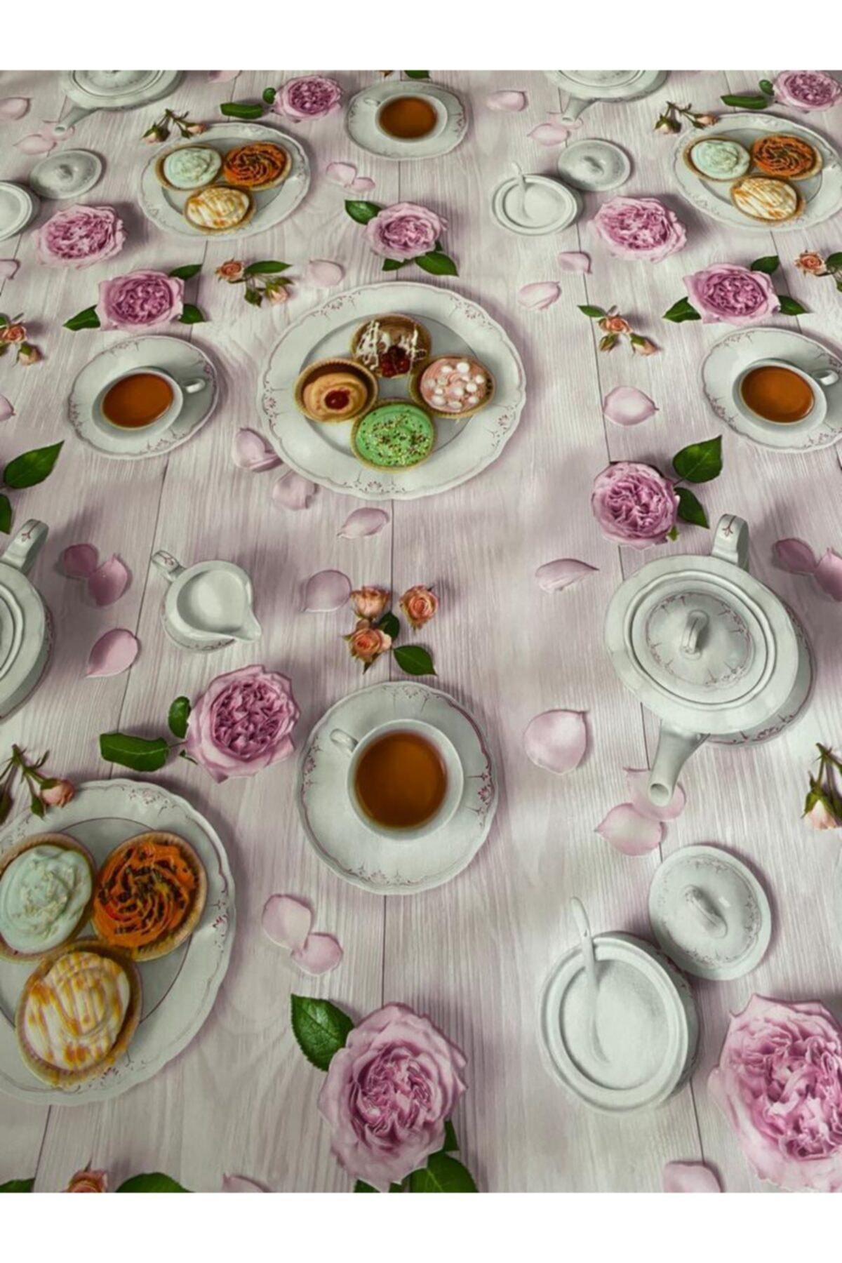 Fiesta Ithal Pvc Masa Örtüsü Muşamba Silinebilir,leke Tutmaz,kaymaz 2