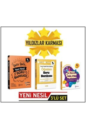 Artıbir Yayınları 4.sınıf Ünite Ünite//öğreten Yeni Nesil Soru Bankası//haftalık Ödev (((karekodlu Video Çözümlü))