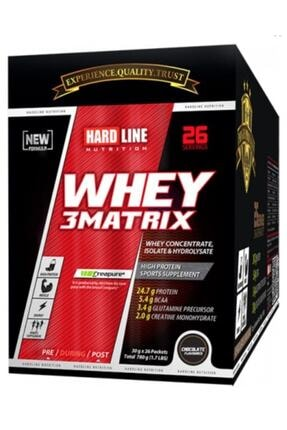 Hardline Whey 3matrix Protein 780 Gr 26 Şase - Muz