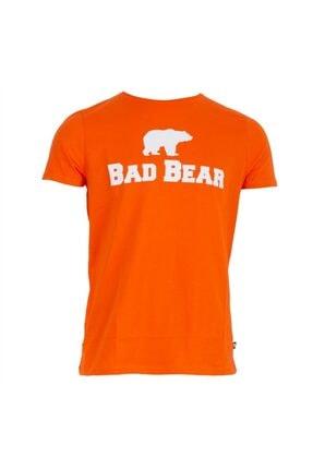 Bad Bear Erkek Turuncu Tshirt 19.01.07.002