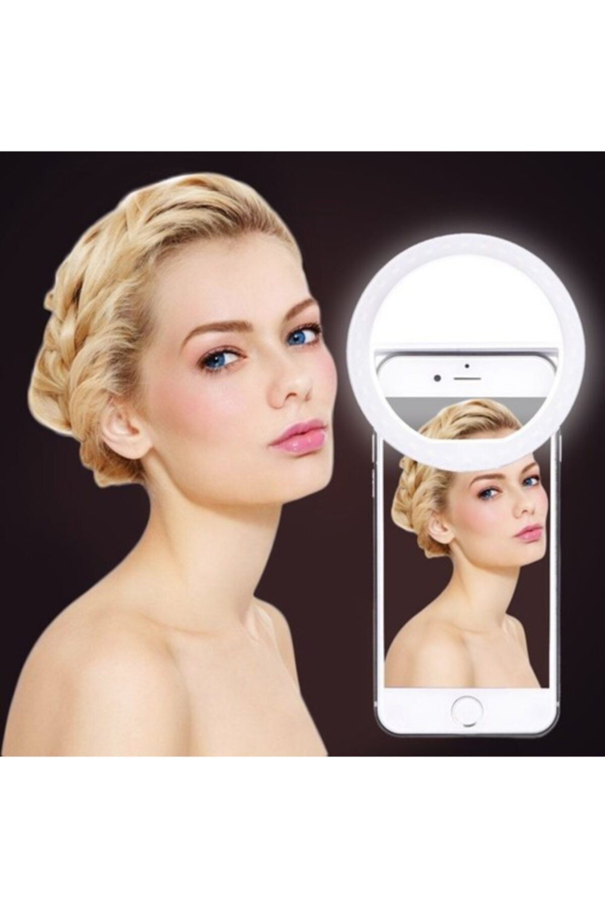 Soffany Genx Selfie Işığı 3 Kademeli Led Aydınlatma Telefon Aparatı 2