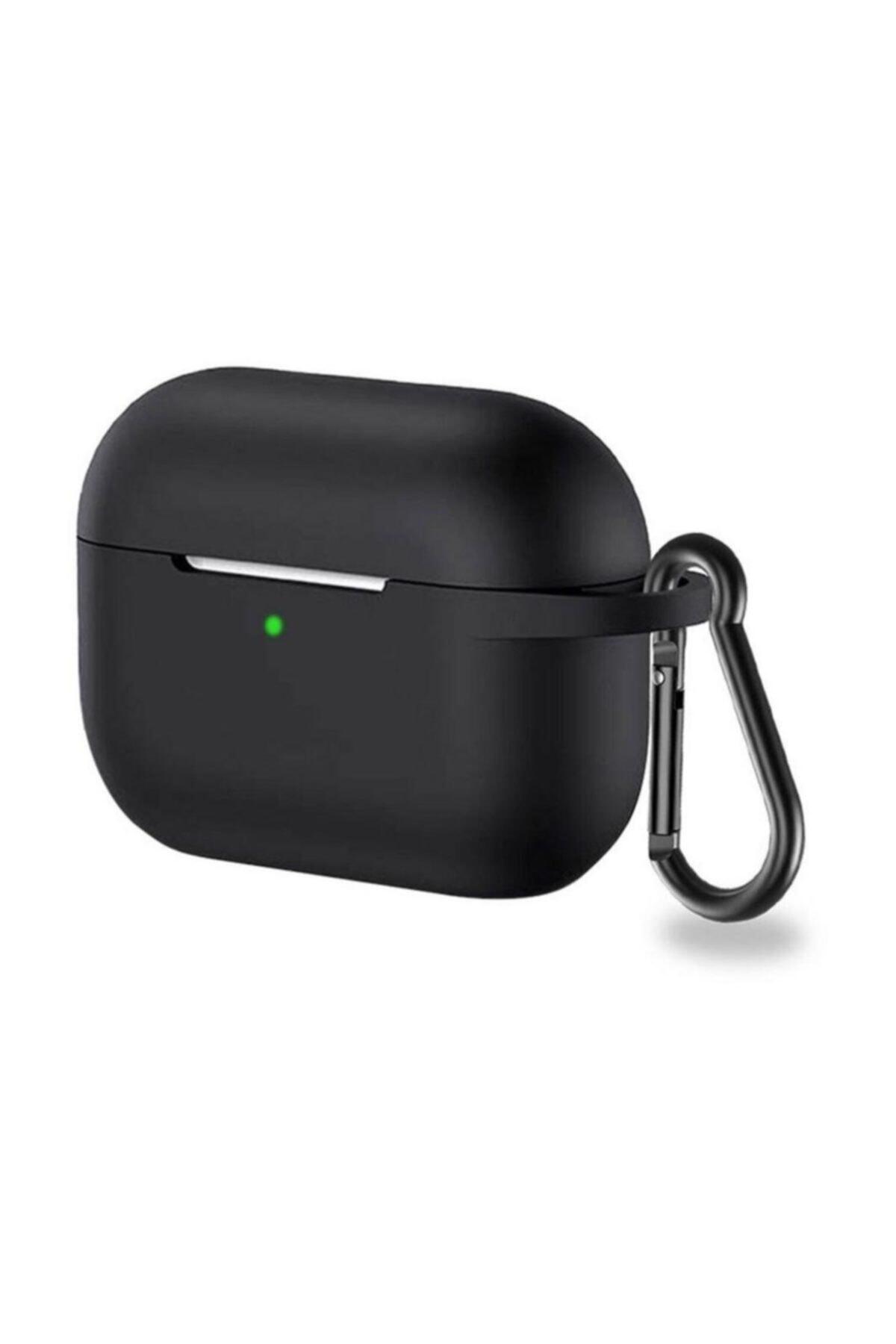 MAXCOM Silikon Airpods Pro Kılıf - Siyah 1