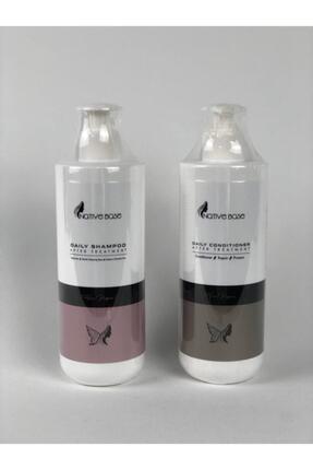 Native Base Keratin Bakım Şampuanı + Keratin Kremi 500 ml