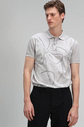 Lufian Karan Spor Polo T- Shirt Taş