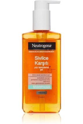 Neutrogena Sivilce Karşıtı Yüz Temizleme Jeli 200 ml