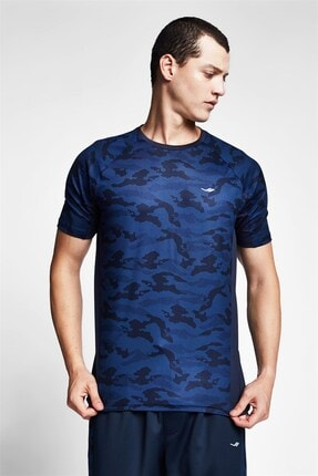 Lescon Erkek T-shirt 20b-1132 Lacivert