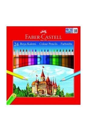 Faber Castell Karton Kutu Kuru Boya Tam Boy 24 Renk 116324 5171