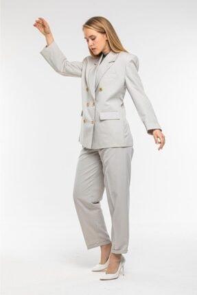Divan Kadın Bej Takım Elbise