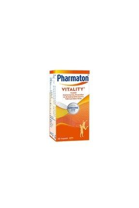 Pharmaton Vitality 30 Kapsül - Takviye Edici Gıda