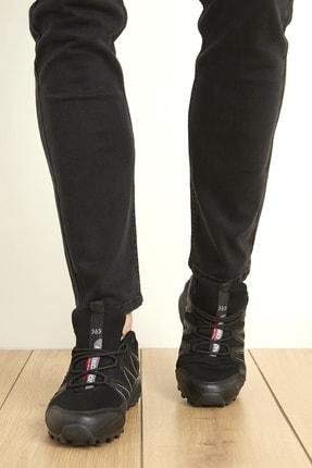 Freemax Siyah Füme Unisex Ortopedik Konforlu Outdoor Spor Ayakkabı