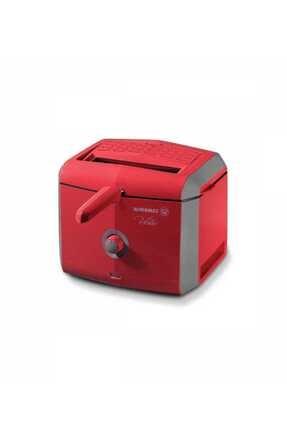 KORKMAZ A486-02 Vertex Fritöz Kırmızı