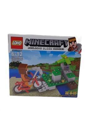MINECRAFT Lego Yapılandırma Oyuncağı 61 Parça Rs10-10