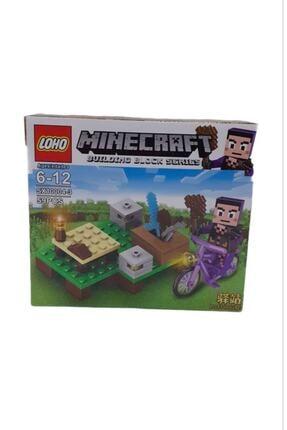MINECRAFT Lego Yapılandırma Oyuncağı 59 Parça Rs10-10