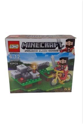 MINECRAFT Lego Yapılandırma Oyuncağı 62 Parça Rs10-10
