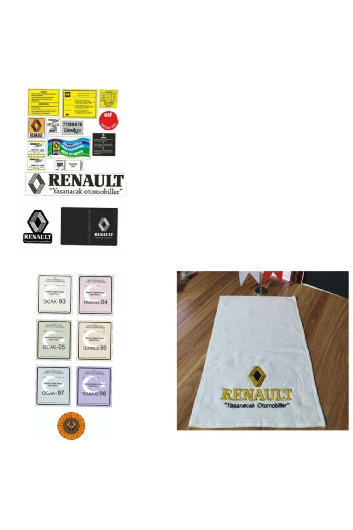 etikettakimi Renault Etiket Takımı Full Set 1
