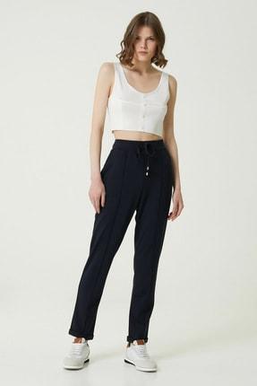 Network Kadın Basic Fit Lacivert Pantolon 1079943