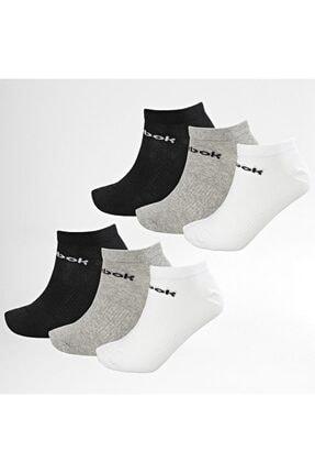 Reebok Unisex Siyah Act Core Unisex 6'lı Çorap Gh8165