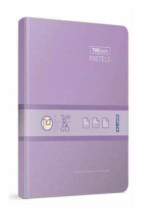 Gıpta Thebook Pastels 17x24 120 Yaprak Kareli Iplik Dikişli Sıvama Sert Kapak Defter