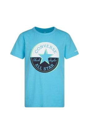 converse Erkek Çocuk Mavi T-shirt