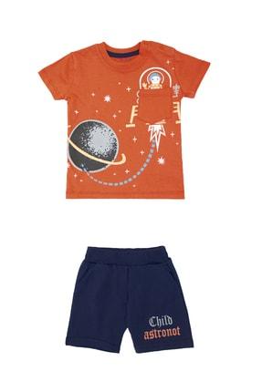 Pattaya Kids Erkek Bebek Astronot Baskılı Takım 6-24ay Pb21s505-2051
